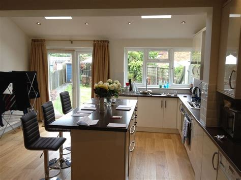 kitchen extension design pitched roof kitchen extension interior google search