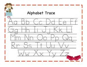 trace alphabet letters for children activity shelter
