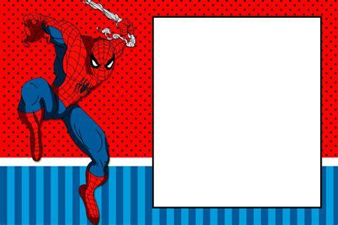 spiderman pattern psd spiderman tarjetas psd fiesta de spiderman invitaciones
