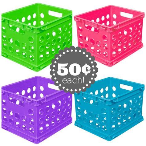 crate walmart sterilite mini crates just 50 162 at walmart pincher