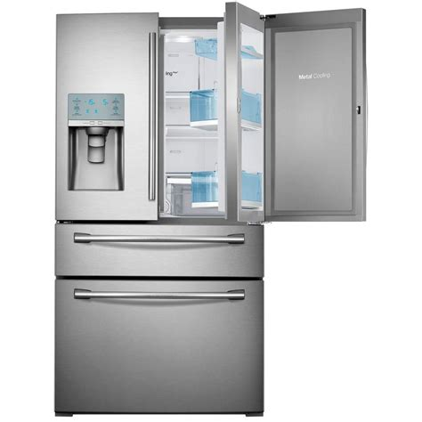 samsung 29 5 cu ft food showcase 4 door door
