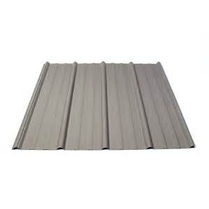 metal roof colors lowes shop fabral 3 14 ft x 12 ft ribbed steel roof panel at