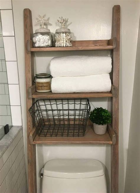 over the toilet ladder top 25 best ladder shelf decor ideas on pinterest