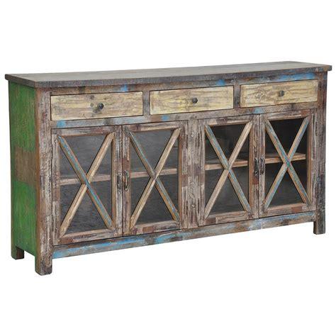 distressed buffet sideboard snipe distressed reclaimed wood buffet sideboard