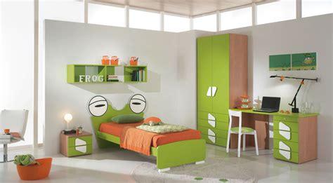 frog room green orange frog shape bed for boys interior design ideas
