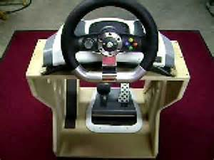 How To Setup Steering Wheel For Xbox 360 Xbox 360 Steering Wheel And Foot Pedal Accessory Stand Ii