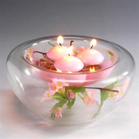 10pcs small unscented floating candles for wedding