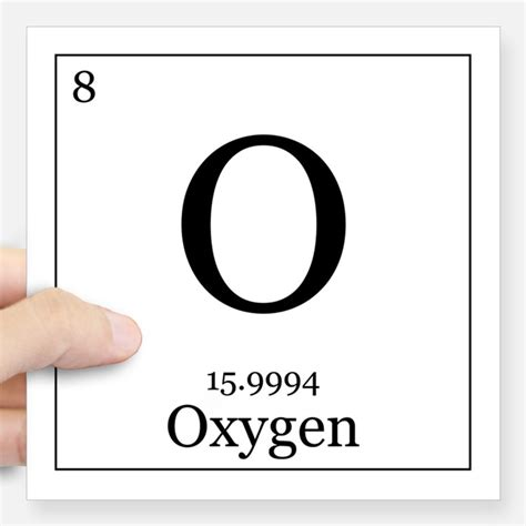 what is oxygen on the periodic table oxygen in periodic table stickers oxygen in periodic