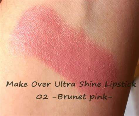 Harga Make Ultra Shine Lipstick potted pinkyrose review make ultra shine lipstick