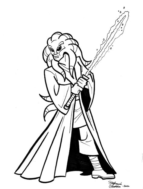 Kit Fisto Coloring Pages kit fisto free coloring pages