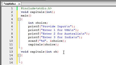 tutorial c list c programming tutorial 44 functions part 2 parameter