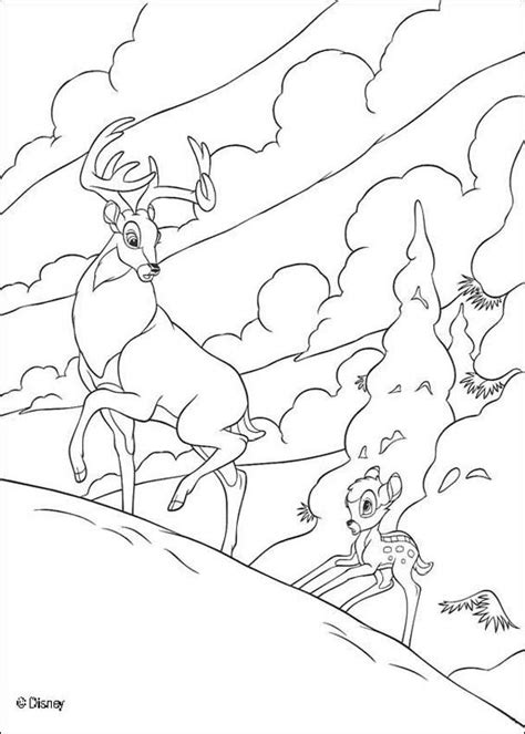 bambi 3 coloring pages hellokids com