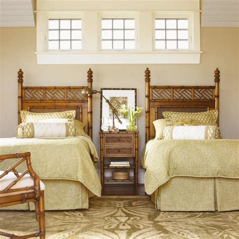 island estate size woven west indies headboard