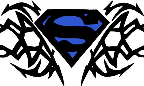 tribal superman tattoo pictures tribal logo png www pixshark images galleries with