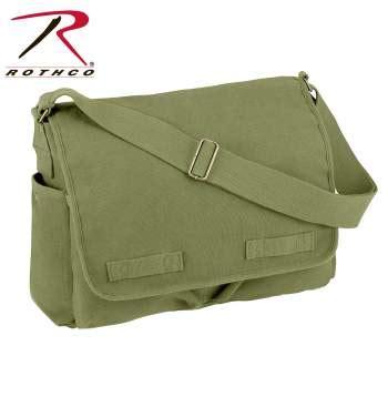 New Hermantech Tas Ransel Kanvas Backpack Kanvas Brown Lzd rothco vintage unwashed canvas messenger bag