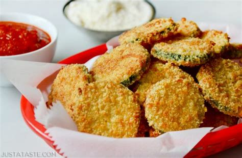 hot zucchini chips baked parmesan zucchini chips just a taste