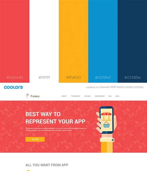 Web Design Color Schemes 2017 | 49 color schemes for 2017 envato medium