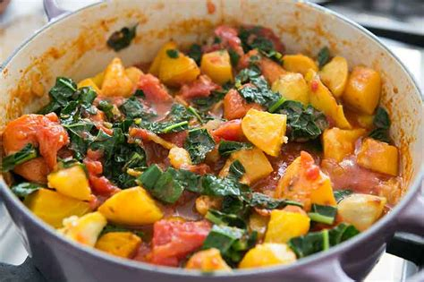 recipe for root vegetables roasted root vegetables with tomatoes and kale recipe