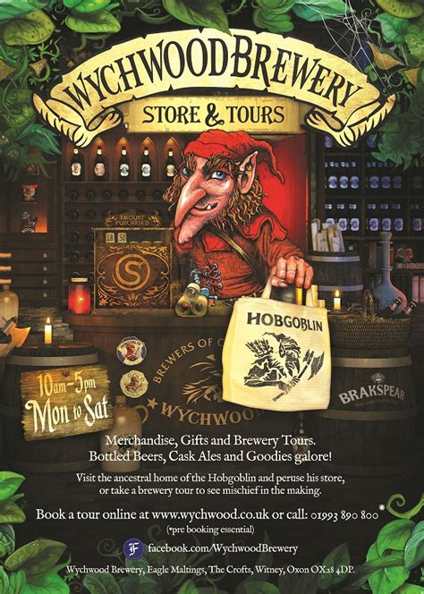 whichwood books wychwood brewery tours experience oxfordshire