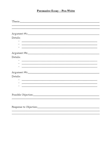 Prewriting Outline Template prewriting outline template 28 images best photos of