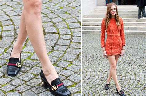 what to wear with gucci loafers chiara ferragni had fall 2016 fashion month s most