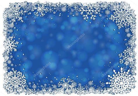 cornici natale sfondo di natale con cornice dei fiocchi di neve