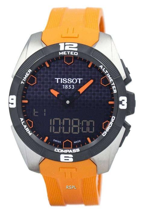 tissot  touch expert solar analog digital
