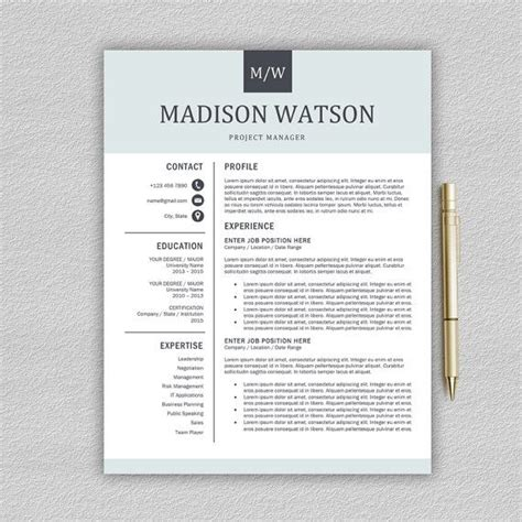 Resume Layout Design by Best 25 Resume Layout Ideas On Resume Ideas