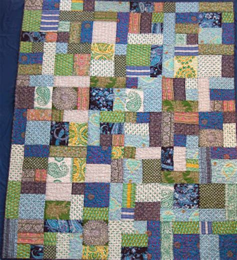 How To Make Quilts From Sarees by Enchanting Quilts Sari Quilt Done