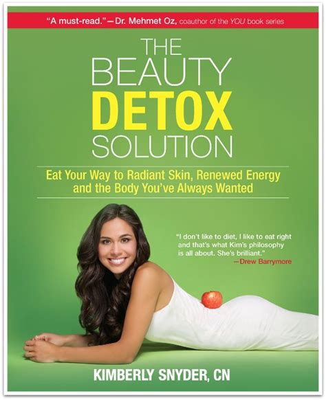 The Detox Book by In New Book Nutritionist Snyder