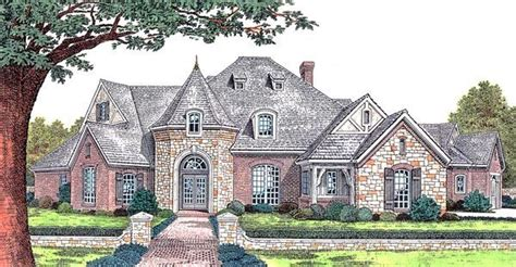 french tudor house plans european french country tudor victorian house plan 66067