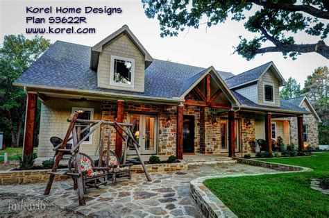 texas hill country style homes country house plan s3622r texas house plans over 700