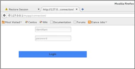 django creating a login page django quick guide