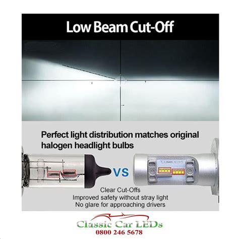 Led H4 Mobil led motorcycle headlight h4 z es chips 4600 lumen 472 475 p43t classic car leds