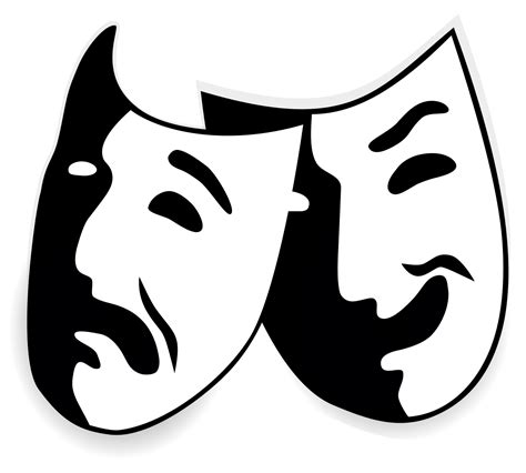 Drama Mask Template by Tragedy Mask Template Www Pixshark Images