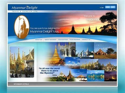 Myanmar Delight Travels & Tours   Creative Web Studio