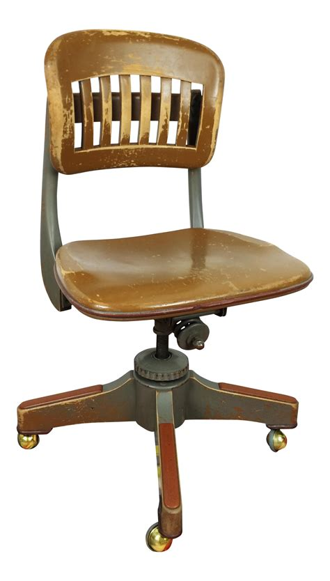 Antique Sikes Industrial Swivel Desk Office Chair Chairish Antique Swivel Desk Chair