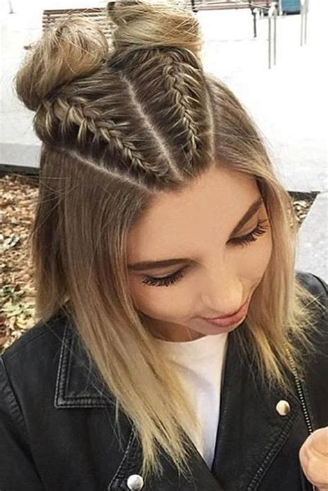 30 cute braided hairstyles for short hair hair braids