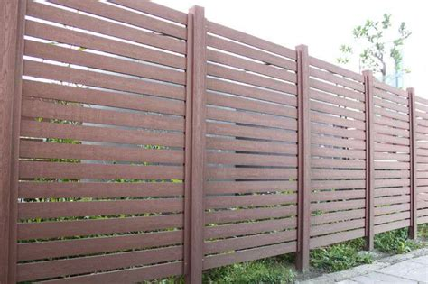 2016 good quality wpc garden fence wpc composite wood