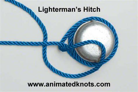 tugboat hitch lighterman s tugboat hitch how to tie the lighterman s