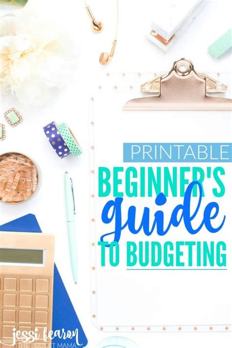 the beginner s guide to budgeting fearon