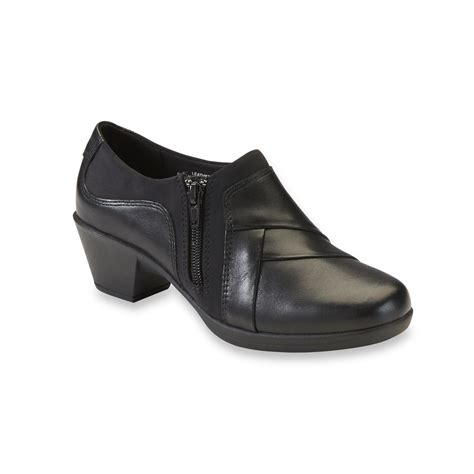 comfortable black booties i love comfort women s marietta leather black bootie