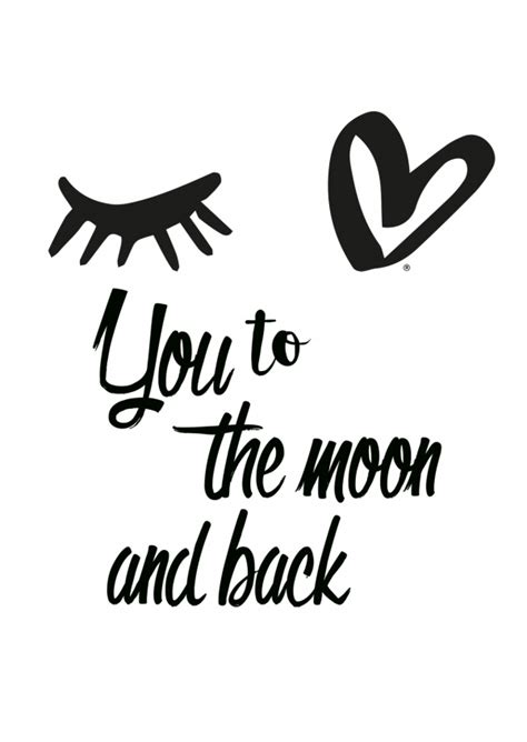 eye love    moon  love cards quotes send real postcards