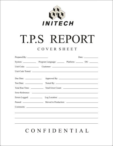tps report template should i remove my tps elt rants reviews and