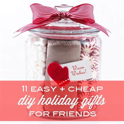 diy gifts for friends 11 easy and cheap diy gifts for friends babble
