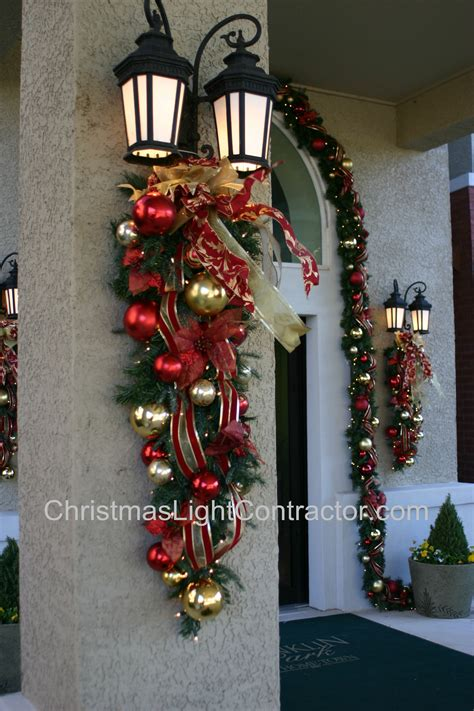 swags for outdoor lights floral wreaths and swags custom originals made