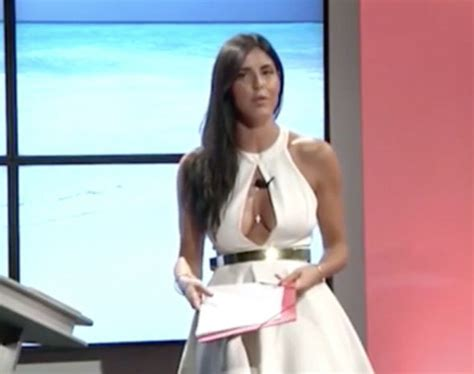 Live Wardrobe wardrobe italian presenter accidentally flashes on live tv