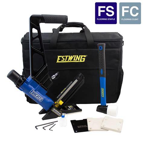 Stapler Ministaples Mini Isi 16 freeman pneumatic 4 in 1 mini flooring nailer and stapler