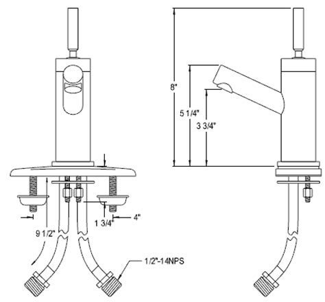 Bathroom Fixture Sizes Single Bathroom Faucets