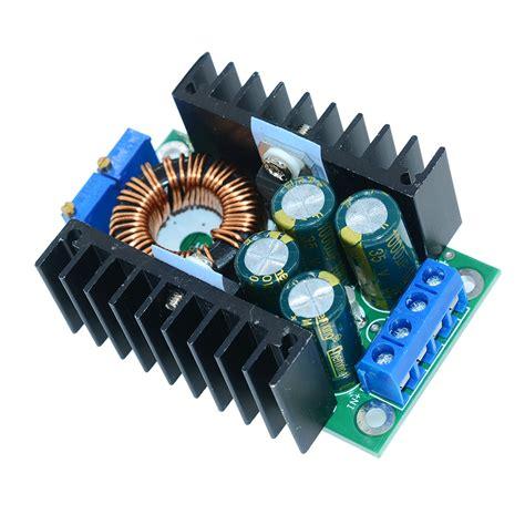 Step Buck Converter Dc Cc 9a 300w 5 40v To 1 2 35v xl4016 dc cc 8a 9a 280w step buck converter 7 40v to 1 2 35v module new ebay